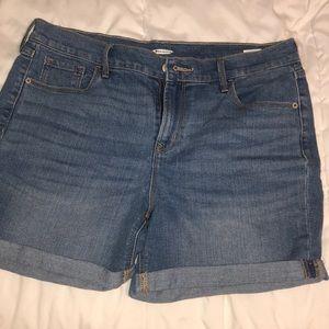 5inch inseam jean shorts